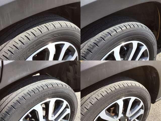 タイヤの溝もあります!