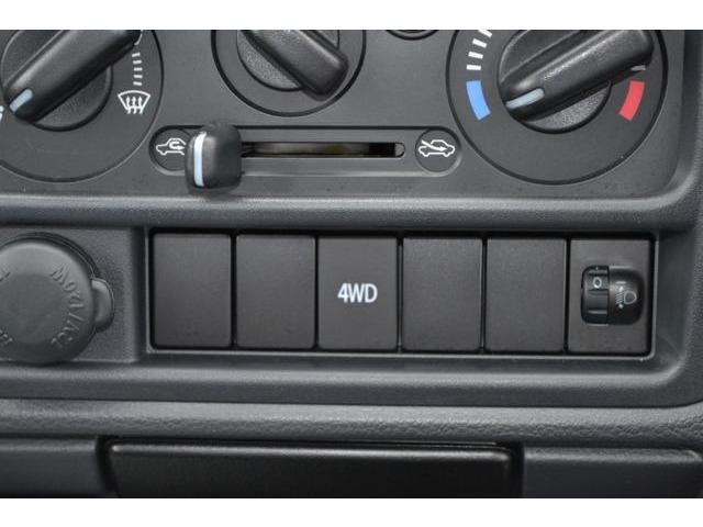 2WD/4WDの切り替えはこのスイッチを押してアクセルから足を離すだけ。操作は簡単です。