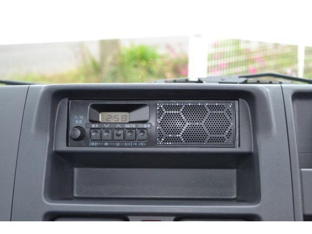 AM/FMラジオチューナー装備です。別途有料オプションにて、ナビやオーディオもございます。お気軽にご相談ください。