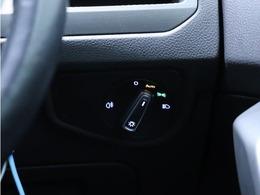 オートライト付きなので自動点灯します。夕暮れ時も早めに点灯するので、視認性が向上します。
