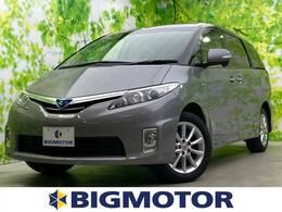 トヨタ エスティマハイブリッド 2.4 X 4WD HIDヘッドライト/ETC/ワンオーナー
