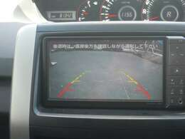 駐車に便利なバックカメラ付き!!