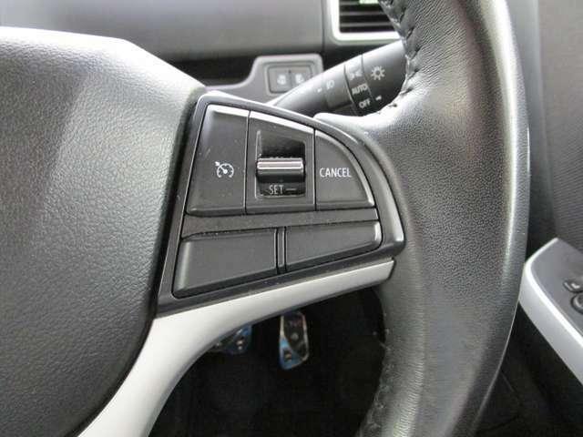 クルーズコントロール装備 高速道路の運転をサポートします