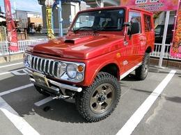 スズキ ジムニー 660 ランドベンチャー 4WD ターボ 赤全塗装 外16AW