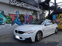 BMW M4クーペ M DCT ドライブロジック エアサス・WORK20インチ