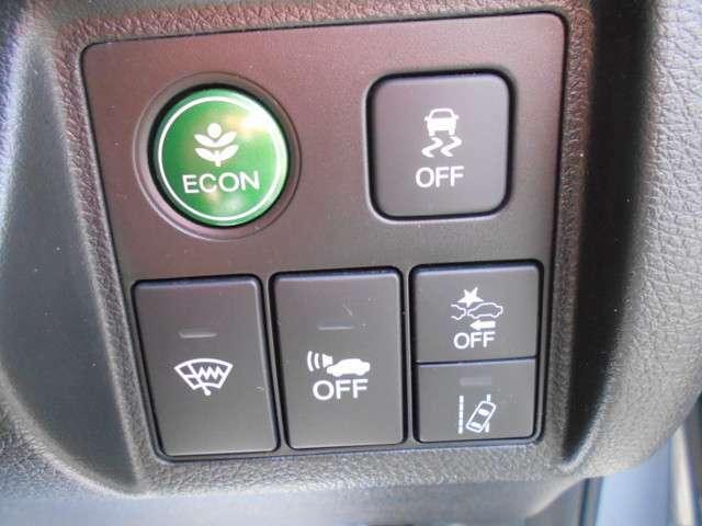 運転を快適・安全にサポートしてくれる、HondaSENSINGを装備しています。
