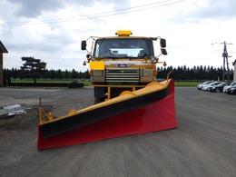 日野自動車 日野トラック 道路維持作業用除雪車 サイドウィング付き