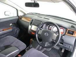 運転しやすい室内モダンなエクステリアデザインの室内!