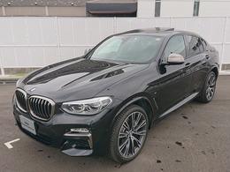 BMW X4 M40i 4WD WSR黒革ベンチレーション21AWH&Kサウンド