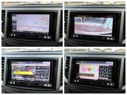 社外ナビが装備されております♪画面もクリアで運転中も確認しやすいです♪フルセグTVとDVDの視聴もお楽しみ頂けます♪ミュージックサーバーも搭載されておりますのでお好きな音楽を録音してください♪