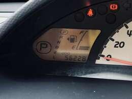 走行距離5.6km。走行距離も1桁台ですので、まだまだ長くお乗り頂けるお車となっております。