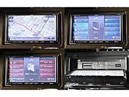 【ディーラーOP】HDDナビゲーション(MITSUBISHI製NR-HZ001)+ワンセグTV※Bluetoothハンズフリー対応/CD&DVD再生・ミュージックフォルダー(CD録音機能)付