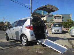 トヨタ ラクティス 1.3 X ウェルキャブ 車いす仕様車スロープタイプ タイプI 助手席側リアシート付 福祉車両 スローパー ドライブレコーダー付