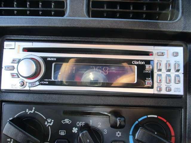 CDプレーヤー付き!◆今はナビも標準装備の時代?ナビ・オーディオの取付やグレードアップなど、また今お使いのオーディオの移設も可能です!持込も大歓迎!ご相談ください!