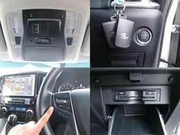 電動スライドドアは運転席のスイッチやキーフリーリモコンからも開閉操作が可能です☆ビルトインETCも装備済み♪