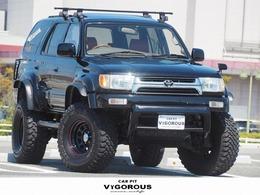 トヨタ ハイラックスサーフ 3.0 SSR-X ワイドボディ ディーゼルターボ 4WD リフトアップ ボディーリフト サンルーフ