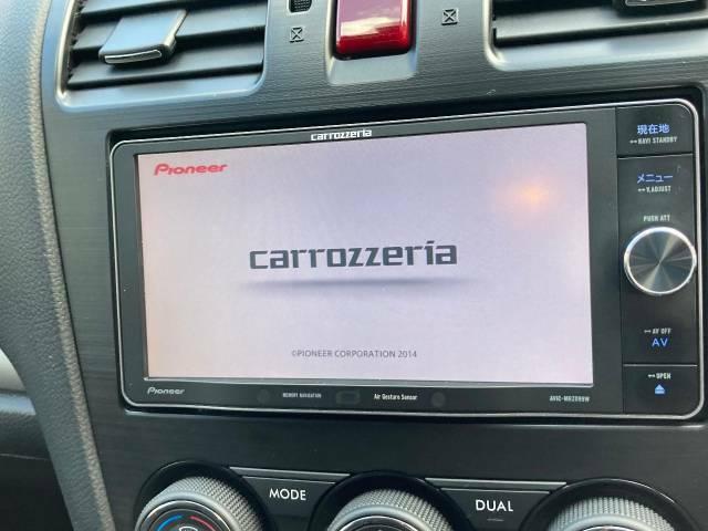 carrozzeria製SDナビです☆音楽の再生・録音はもちろんテレビ・DVDの視聴もOK!!