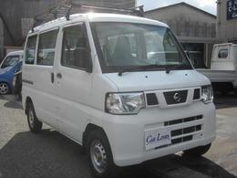日産 NV100クリッパー 660 DX ハイルーフ 4WD 5速 タイヤ4本新品交換 保証付