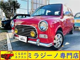 ダイハツ ミラジーノ 660 ミニライトスペシャル 純正レッド新規全塗装 電動格納ミラー