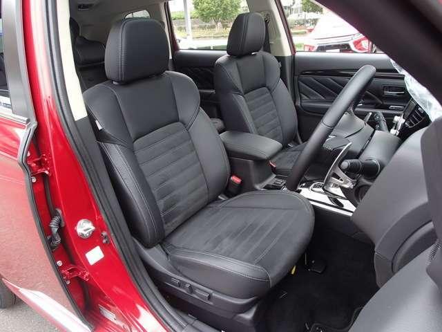 サイドエアバック カーテンエアバック ハーフレザー調シート 運転席ランバーサポート