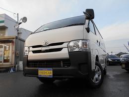 トヨタ ハイエースバン 2.8 DX ロング ディーゼルターボ 4WD 車検1年整備付き渡し 記録簿付き