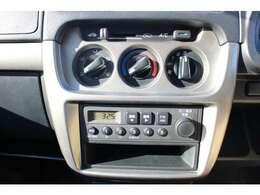 エアコン完備です!ラジオもお楽しみできます!