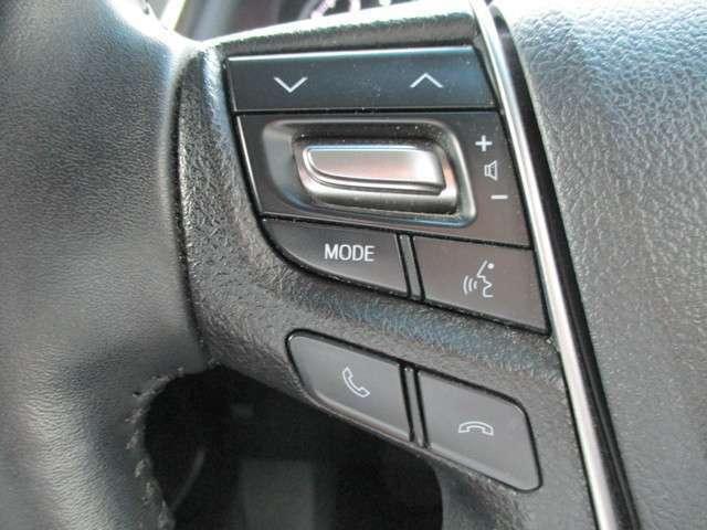 ハンドルから手をはなさず、選局・電源操作・音量調節など、手元でオーディオ操作が出来ます(*^^*)