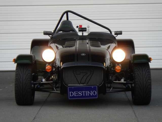 シングルシーターのセブン!!OPTIONも豊富な特別仕様車です。
