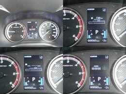 燃費計も表示できる多機能メーターです^^