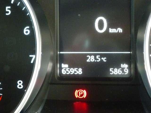 走行距離は65,958kmです