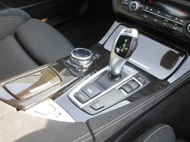 M/Tモード付きでドライブも楽しめます。