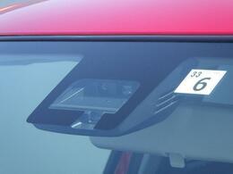 車輌や人を検知する サポカーSワイド デュアルセンサーブレーキサポート搭載。