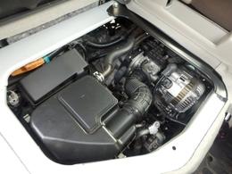綺麗で好調なエンジン