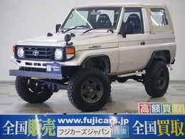 トヨタ ランドクルーザー70 4.2 LX 幌タイプ ディーゼル 4WD リフトアップ レカロシート 後期型