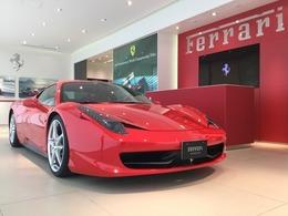 フェラーリ 458イタリア F1 DCT D車 カーボンレーシングシート