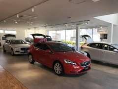 新型車輌も随時展示致しております。
