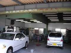 ◆鈑金/塗装工場を併設しております。傷や凹みの修理も格安にて行います。