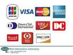 各社カードの分割お支払サービスも承っております♪