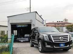 2つの工場と大型リフトを完備!!全車種対応です!各社純正テスター完備。