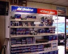 Acdelco正規代理店としてのパーツの迅速供給や知識と経験を整備などに生かし、更にアフターパーツのご相談や取付けも行います。
