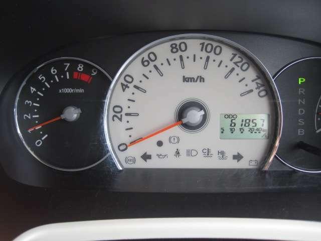 メーター実走行距離61,857kmになります!