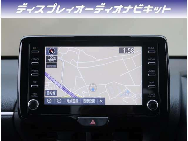 【ナビ】純正DA+ナビが付いています。BluetoothオーディオやUSB接続、フルセグTVなど音楽機能がご利用頂けます。