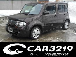 日産 キューブ 1.5 15X FOUR インディゴセレクション 4WD 純正ナビ Bカメラ フルセグTV