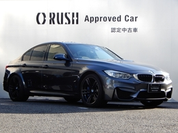 BMW M3セダン M DCT ドライブロジック カーボンルーフ 黒革 HDDナビTV OP19AW