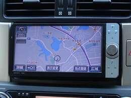 何処でも行きたい場所へ、安心のトヨタ純正ナビHDDナビを装備してます。