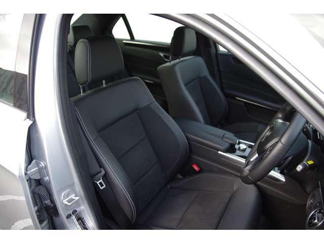 AMGスポーツシート(ステッチ入りハーフレザー)・シートヒーター・メモリー付パワーシート・ルームクリーニング済みで綺麗なインテリアの状態です。全国納車致します。お問い合わせはお気軽に。