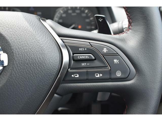 クルーズコントロール搭載で長距離運転の疲労を軽減してくれます!