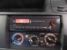 ラジオ付きです☆ マニュアルエアコン付きです☆