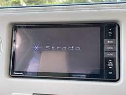 「ナビ」 ストラーダナビ付きで知らない土地のドライブも安心!CD、DVD、TVも楽しめます♪