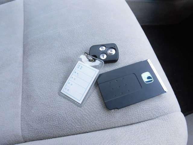 カード型のスマートキーです!